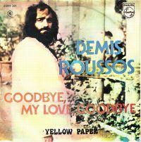 Cover Demis Roussos - Goodbye, My Love, Goodbye [English]